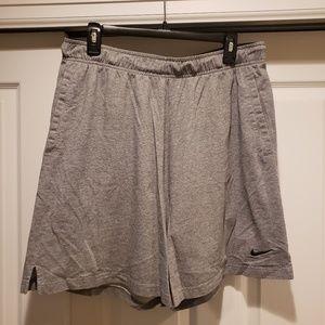 Nike Men's Dri Fit shorts XL gray cotton shorts